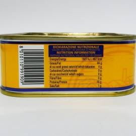 filety z makreli w oliwie z oliwek 340 g Campisi Conserve - 5