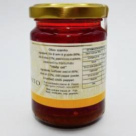 olio santo (olive oil with chili pepper) 120 g Campisi Conserve - 3