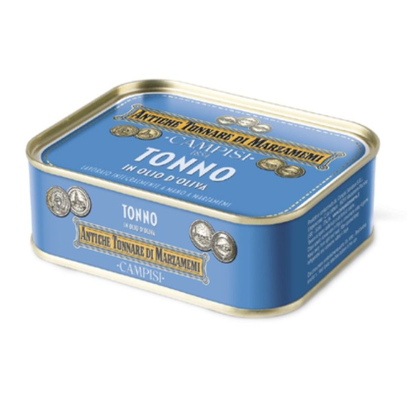 tuna in olive oil 340 g Campisi Conserve - 1