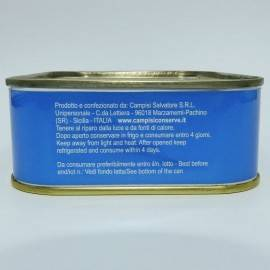 atún en aceite de oliva 340 g Campisi Conserve - 5