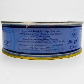 filetes de anchoa con chile de hojalata g 500 Campisi Conserve - 3
