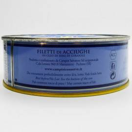 filetti di acciughe con peperoncino latta g 500 Campisi Conserve - 5