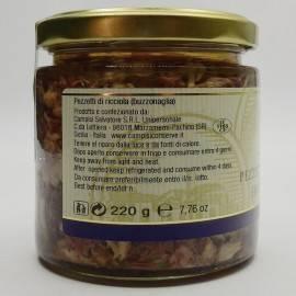 pedaços de amberjack (buzzonaglia) 220 g Campisi Conserve - 2