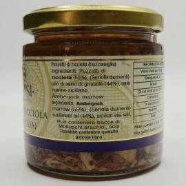 amberjack bites (buzzonaglia) 220 g Campisi Conserve - 3