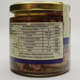 pezzetti di ricciola (buzzonaglia) 220 g Campisi Conserve - 4