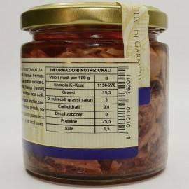 trozos de atún rojo (buzzonaglia) 220 g Campisi Conserve - 4