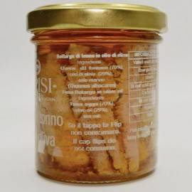 Thunfisch Bottarga in Olivenöl 90 g Campisi Conserve - 3