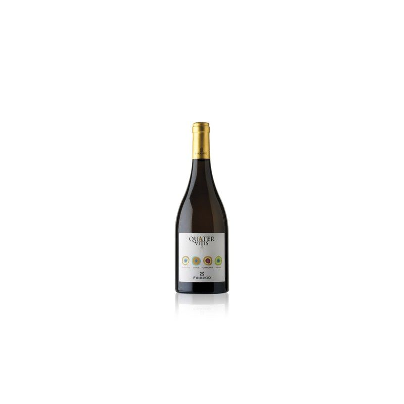quater vitis bianco f 75 cl Firriato - 1