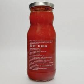 fecha puré de tomate 360 g Campisi Conserve - 2