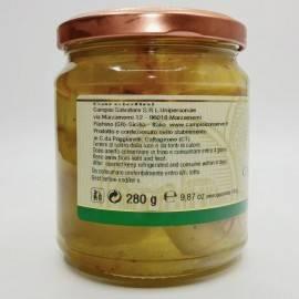 artichoke hearts in oil 280 g Campisi Conserve