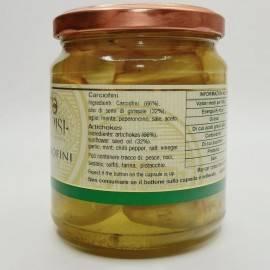 artichauts à l'huile 280 g Campisi Conserve - 4
