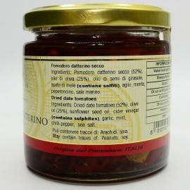 getrocknete Datteltomate 220 g Campisi Conserve - 3