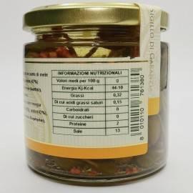 кукушки каперсы фрукты в яблочном уксусе 230 г Campisi Conserve - 4