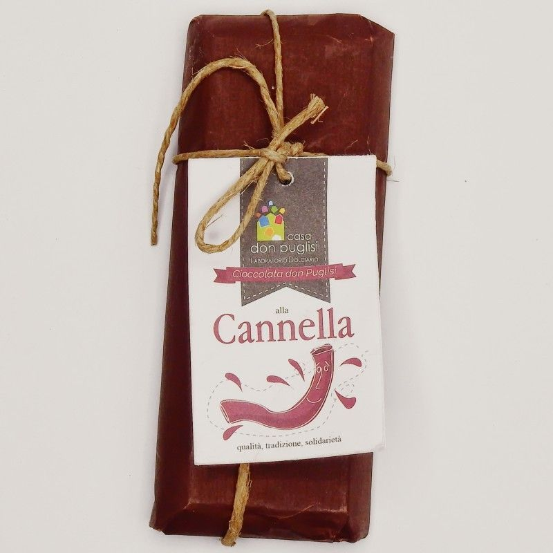 chocolate de canela 100 g Casa Don Puglisi - 1